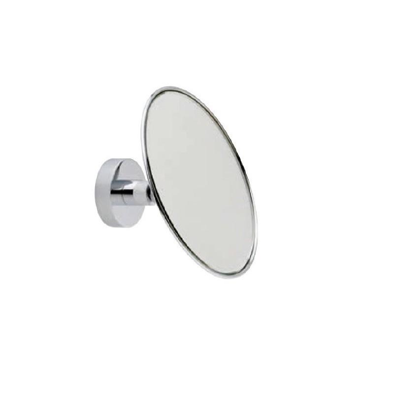Espejo De Aumento Latón Cromado 140 Ø 3X