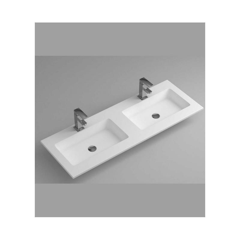 Lavabo Solid Surface 2 senos 2cm