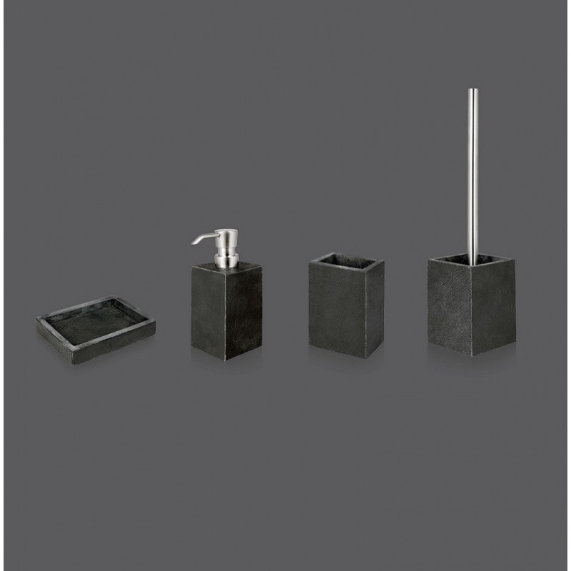 Black Set Accesorios de baño