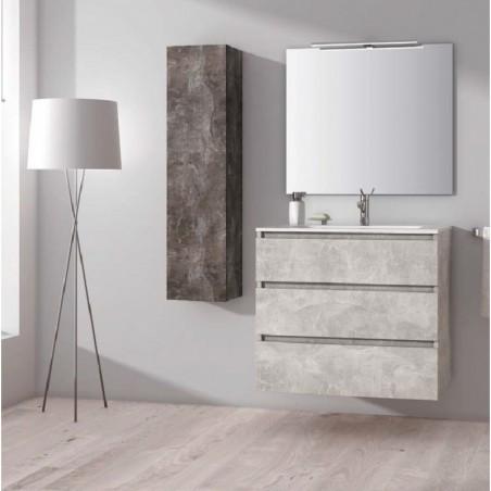 Niza 02 Conjunto Mueble de Baño de Sergio Luppi