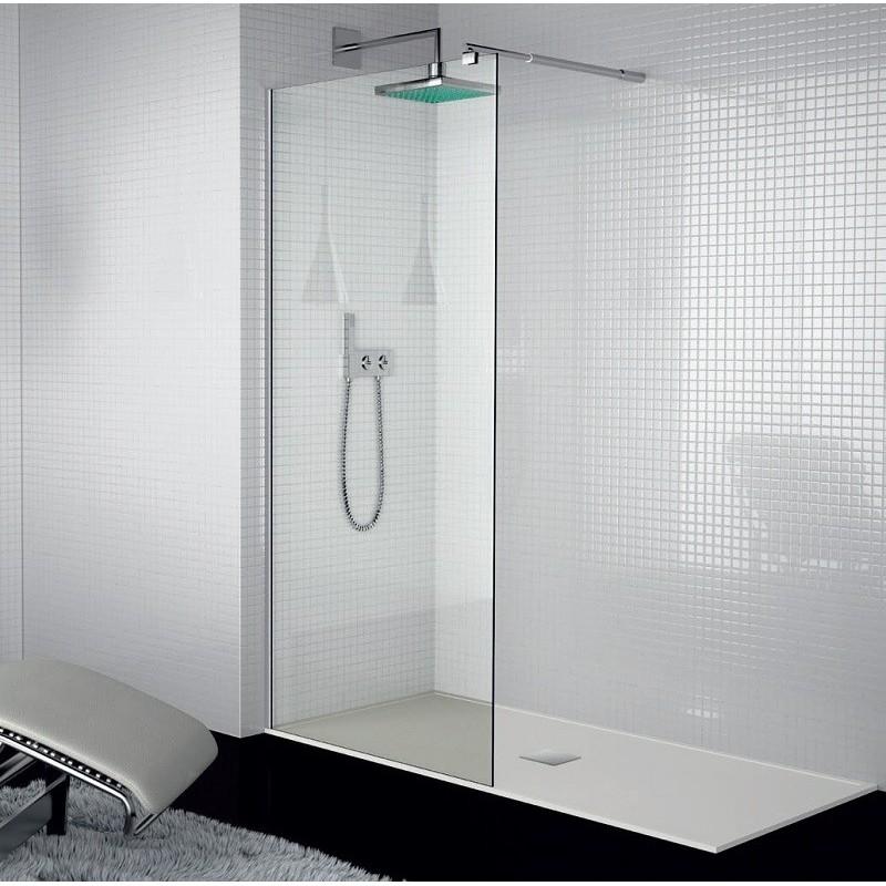 Mampara de ducha serie 300 de kassandra 1 hoja fija - Mampara fija ducha ...