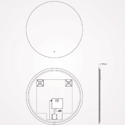 Espejo Retroiluminado Noom de Torvisco