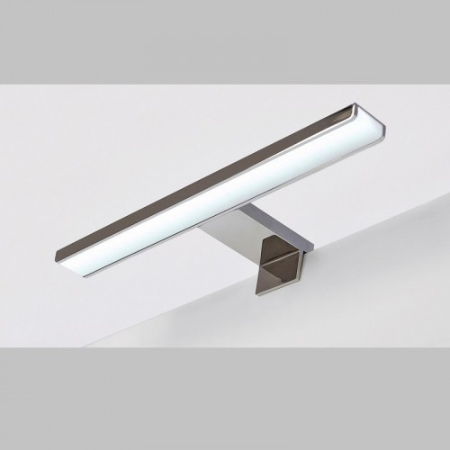 Aplique Led para Baño Waves Aluminio Cromado