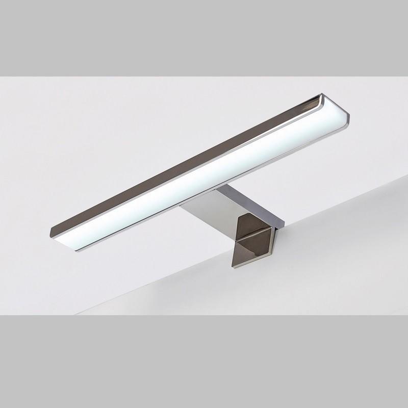 Aplique Led para Baño Waves Aluminio Cromado