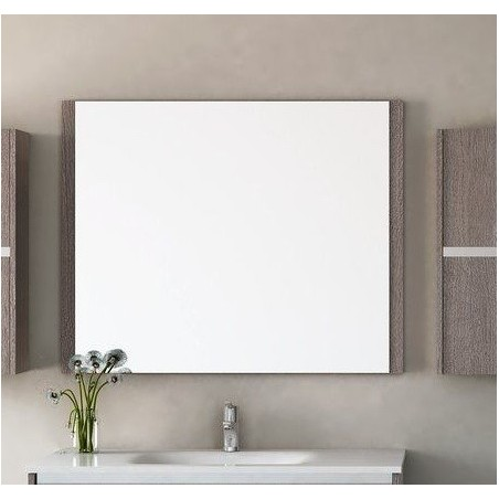Espejo De Baño Mod. Aral Roble