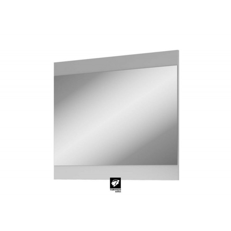 Espejo Modelo Corfú blanco